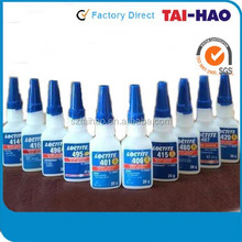 Loctit Black Loctite480 rubber toughened adhesive cyaoacrylate instant adhesive loctit 401 403 406 460 480 495 496