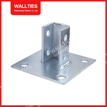 Steel Channel Post Base/Channel Fittings Accessories/C Channel Accessories