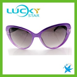 Fashion cateye glasses frames for young girls retro vintage custom sunglasses best selling 2015