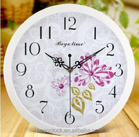 Hot Oriental Plastic wall clock,decorative home wall clock