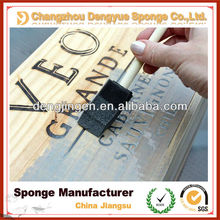 Wooden Handle Paint Foam Brushes for furniture