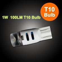 100LM high brightness 12V car lighting led t10, 194/W5W led t10 bulb