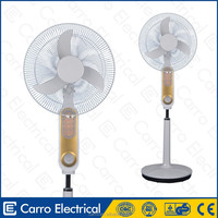 New products 12v 16inch electric cooling dc pedestal fan pedestal fan specification