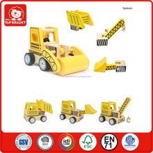 alibaba china manufacturer innovative products for sale Construction vehiclesset toys wooden craft cars