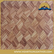 Hot Selling PU cork leather Shoe Lining PU for Global
