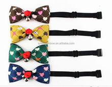 wholesale dog products high quality colorful bow tie for dog