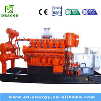 200kw Landfill long life gas generator plant