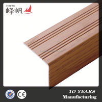 OEM design aluminum anti-slip stair nosings