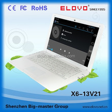 """built-in bluetooth 13.3""""Adroid netbook computer dual core wifi and ethernet 1GB/8GB storage OEM cheap unique factory netbook"""