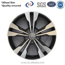 Durable stock available racing 15 inch alloy wheel rim with 5 hole