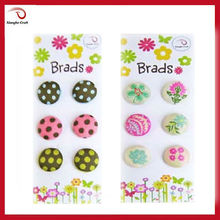50% off insect spot craft fabric brad