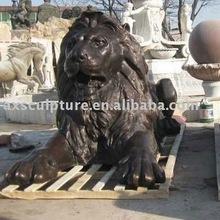 bronze lion(factory)
