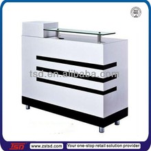 TSD-W1024 shop counter table,receptionist counter table, factory price cheap reception desk