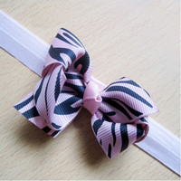 Beautiful baby headband,Colorful leopard print infant hair accessory