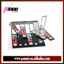 New arrived 78colors eyeshdow & lipgloss can changeable Mix matte and shimmer eyeshadow palettenew & shimmer 78 colros eyeshadow