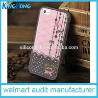 Newly promotional custom silicone flip mobile phone case
