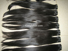 The weft hair products are most popular on the marke.