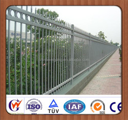 Ornamental and security retractable temporary fence wholesale