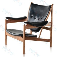 Chieftain Chair Wooden Lounge Chair #AWF23