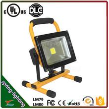 Industrial Portable emergency light 20W outdoor led flood light rechageable