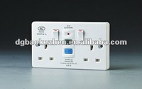 0230SPW RCD electrical switch and socket