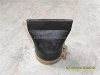 Quality assurance rubber flap valve