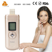 Facial beauty massage use handheld beauty device