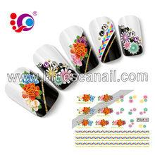 etiqueta engomada de esmalte de uñas venta caliente