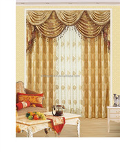 Ready Made Curtain, Faux Silk Taffeta Curtain ,Embroidered Curtain