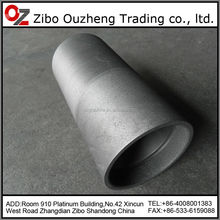high pure graphite crucible for metling silver gold ingot