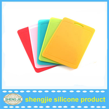 Anti-slip cutting board sets/non-stick durable silicone cutting board