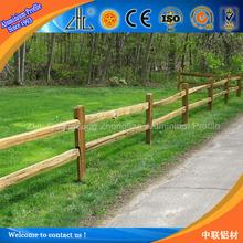 Great ! Aluminium extrusion modern aluminium fence / Aluminium garden fencing profiles for outdoor