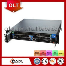 8 pon ports FTTH network equipment GEPON OLT