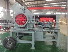 Mineral stone crushing mill, hammer crusher in stock