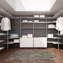 2015 de acero inoxidable de la tienda de ropa, moderna tiendas de ropa de Stands