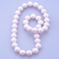 Fashionable new item pearl silicone beads necklace wholesale