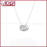 925 silver couple necklace string necklace silver infinity
