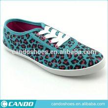 Barato para mujer zapatos de leopardo de las muchachas zapato casual
