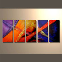 New Style Modern Group Abstract Oil Painting With The Competitive Price