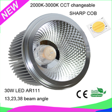 2015 new cri 90 cct dimmable AR111 led light with Trade Assurance