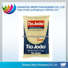 Custom laminated non woven plastic security 10kg rice packing bag