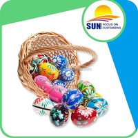 Food grade high quality colorful plastic Easter egg