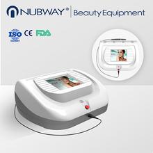 2015 más eficiente portatil retiro vasculares láser equipo de belleza para eliminación venas