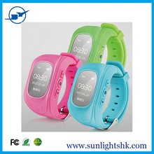 Children Kids Smart Phone 2015 KIDS GPS Watch with Remote monitoring&GPS Position Tracking & SOS Call Kid Smart Bluetooth Watch