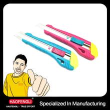 2015 Promotion Pocket Knife for Sales Office Paper Knife Application Utility Knife
