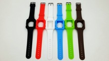 2015 New arrival Silicon For Apple Watch aband, Rubber For Apple Watch band