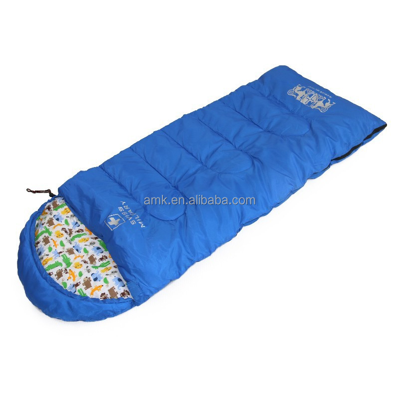 Kids sleeping bag with pillow with monkey cartoon pattern top sales in korea and Japan