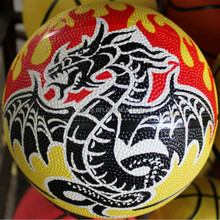 Top level hotsell popular rubber basketball in usa