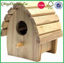 Toit round pin bois pas cher petit bois maison d'oiseau