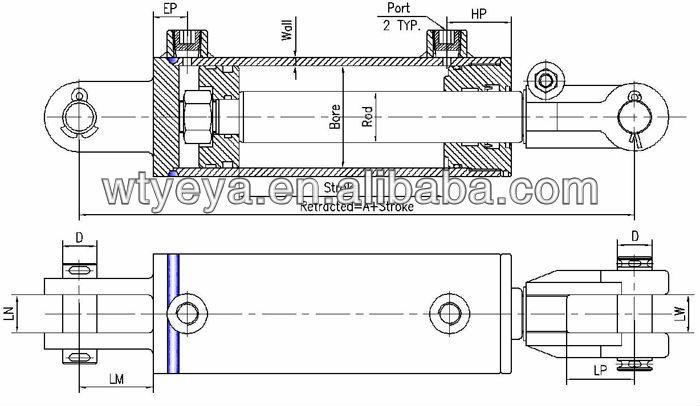 양방향 유압 실린더를 기계-실린더 -상품 ID:1768548215-korean.alibaba.com